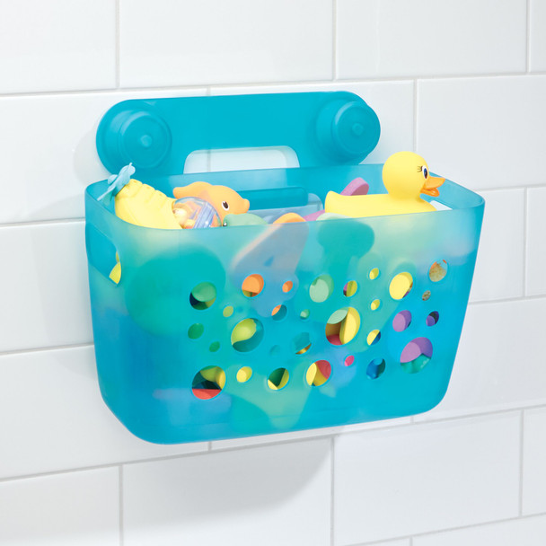 Suction Kids Bathtub/Shower Caddy Storage Basket