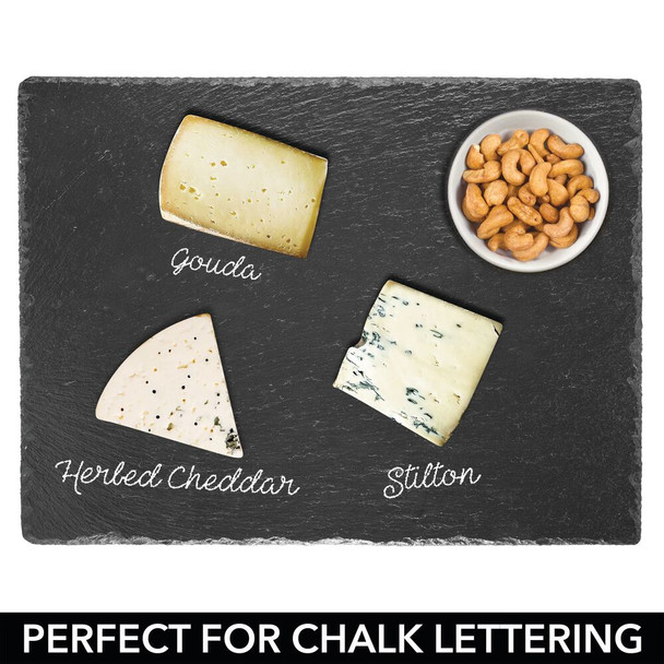 Slate Stone Serving Tray and Cheese Board - Pack of 4