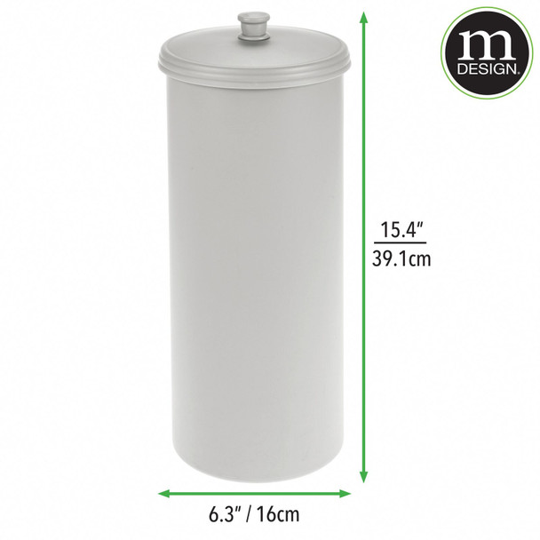 Plastic Toilet Tissue Paper Roll Canister