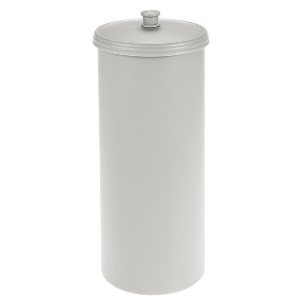 Toilet Tissue Paper Roll Holder Canister, Plastic