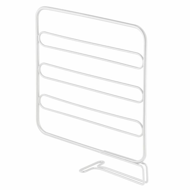 Metal Expandable Shelf Divider & Separator for Closet Storage