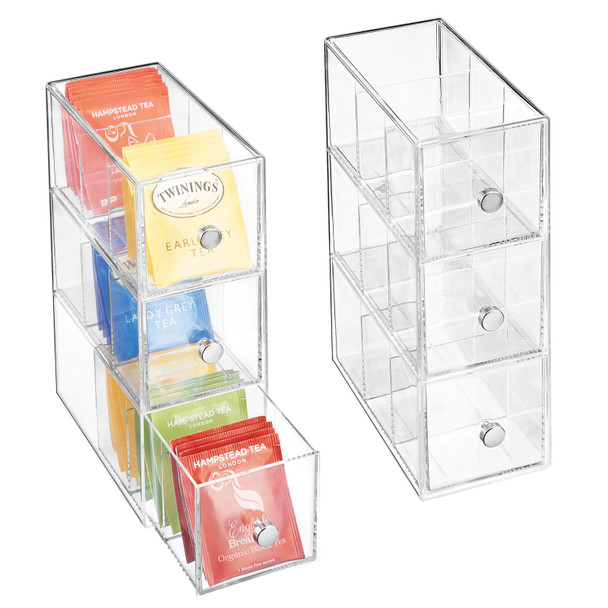 Tea Bag Holder / Condiment Accessory - Organizer Box
