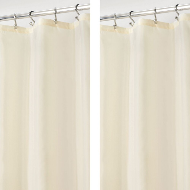 Water Repellent Fabric Shower Curtain Liner 72 x 72