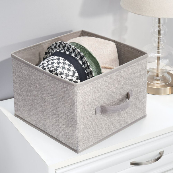 """Collapsible Fabric Cube Storage Bin for Closet - 11"""" x 10.75"""" x 7.8"""""""