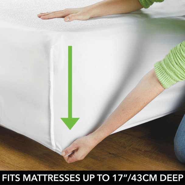 Waterproof Fitted Mattress Protector Cover