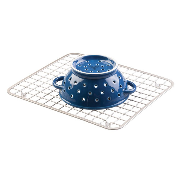 Metal Grid Kitchen In-Sink Protector Mat/Drying Rack