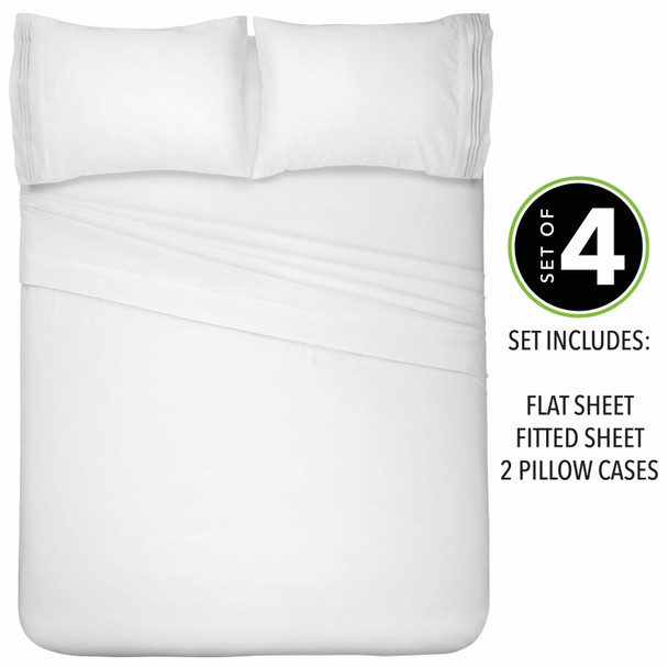 Microfiber Deep Pocket Bedroom Sheet Set