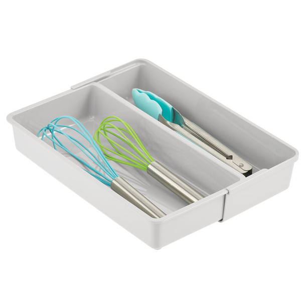 Expandable Kitchen Cabinet Drawer Organizer Tray