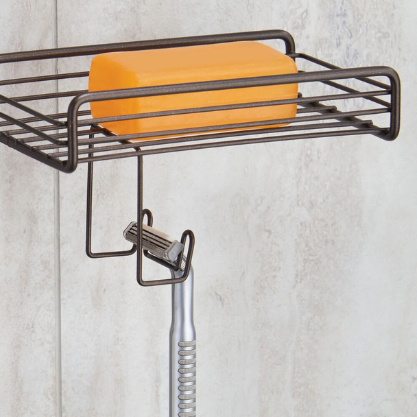 Metal Bath Tub & Shower Caddy, Hanging Storage Organizer
