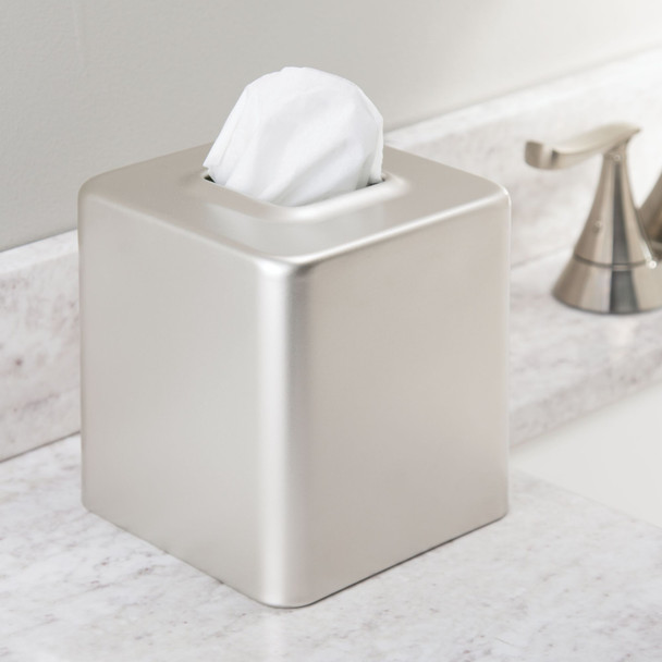Metal Square Facial Tissue Box / Cover Holder