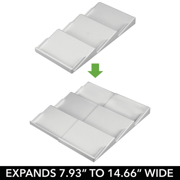 Expandable Kitchen Spice Rack Drawer Organizers - Pack of 2