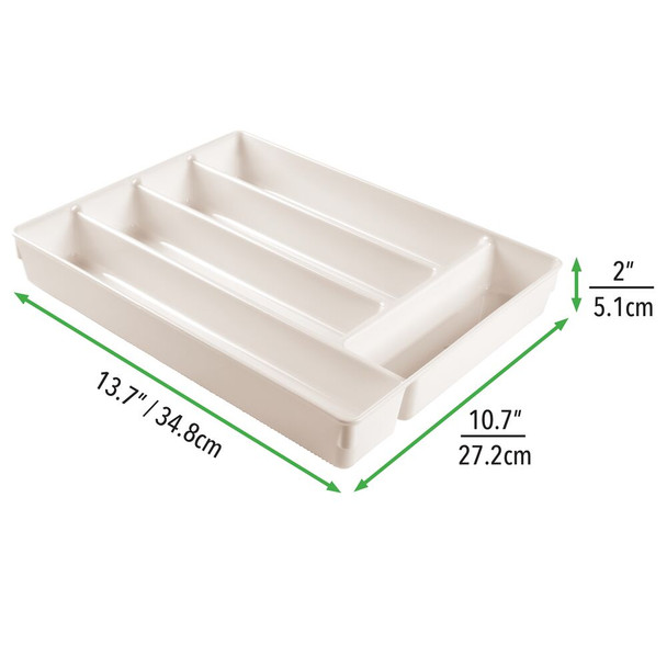 Plastic Home Office Drawer Organizer, 5 Sections