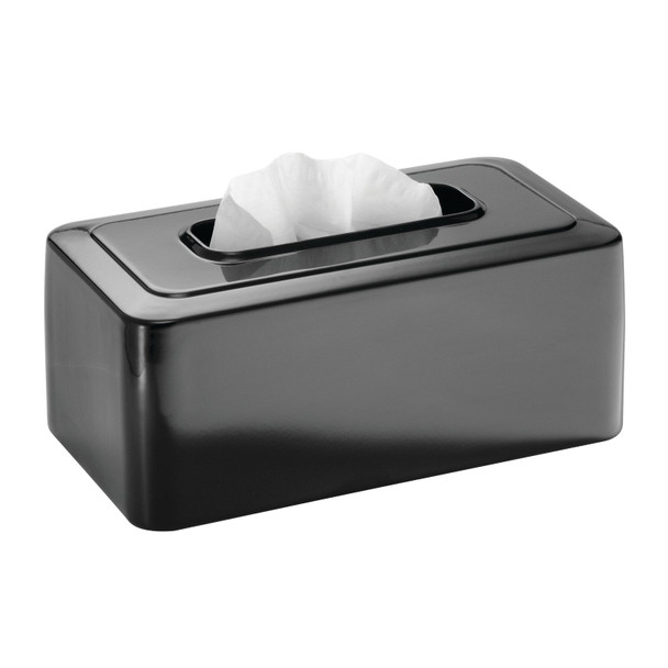Metal Large Rectangular Facial Tissue Box Cover Holder