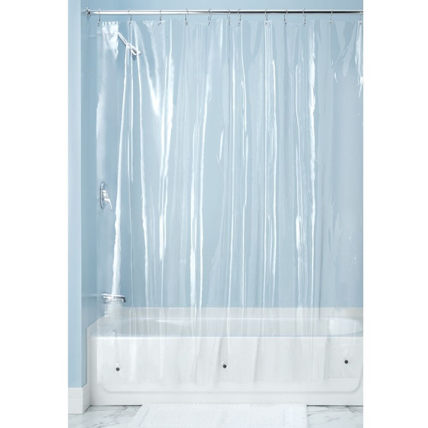 "Vinyl Shower Curtain Liner for Bathroom - 72"" x 72"""