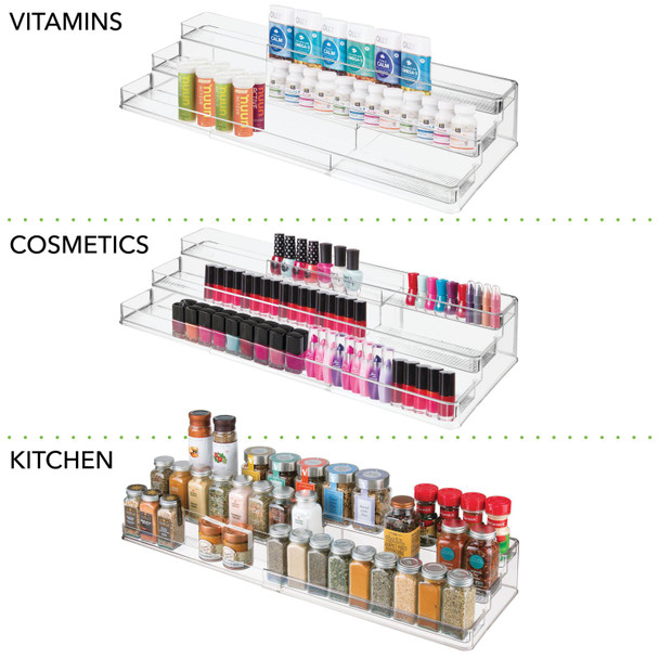 Expandable Vitamin Organizer for Bathroom Storage