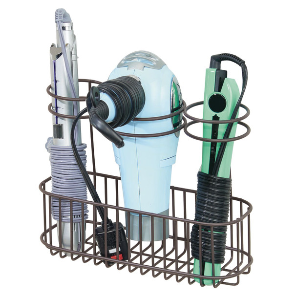 Wall Mount Hair Care Tool Rack Holder for Hair Dryer