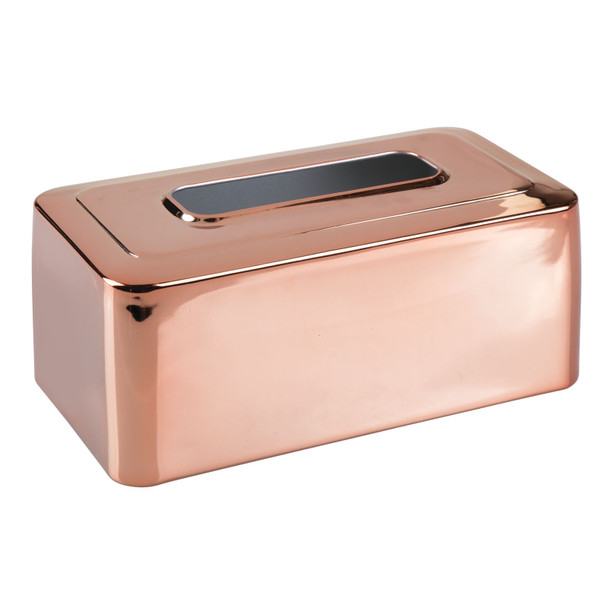Large Metal Facial Tissue Box Cover Holder