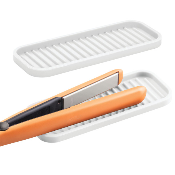 """Mini Silicone Heat-Resistant Hair Styling Tool Mat - 9"""" x 3.5"""""""