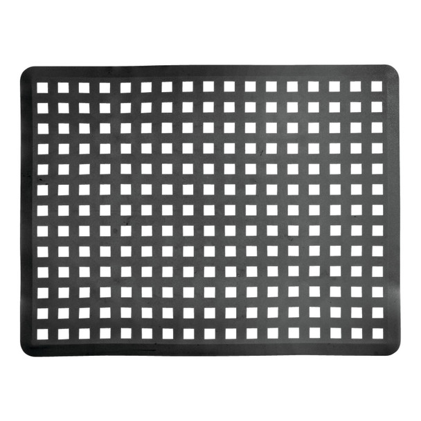 Kitchen Double Sink Protector Mats and Saddle