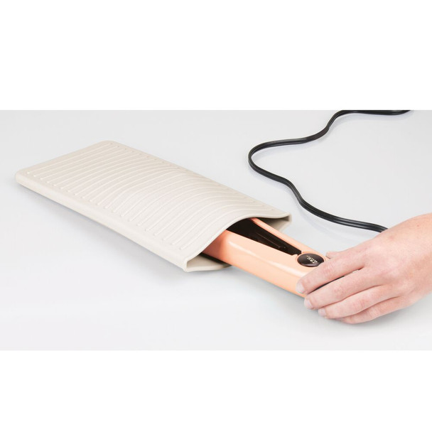 Silicone Heat-Resistant Hair Care Styling Tool Mat Pouch