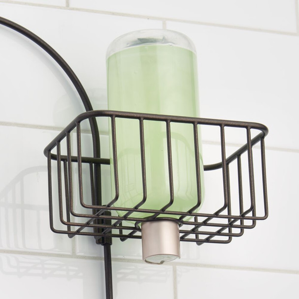 Metal Bathroom Hanging Shower Caddy with 4 Baskets