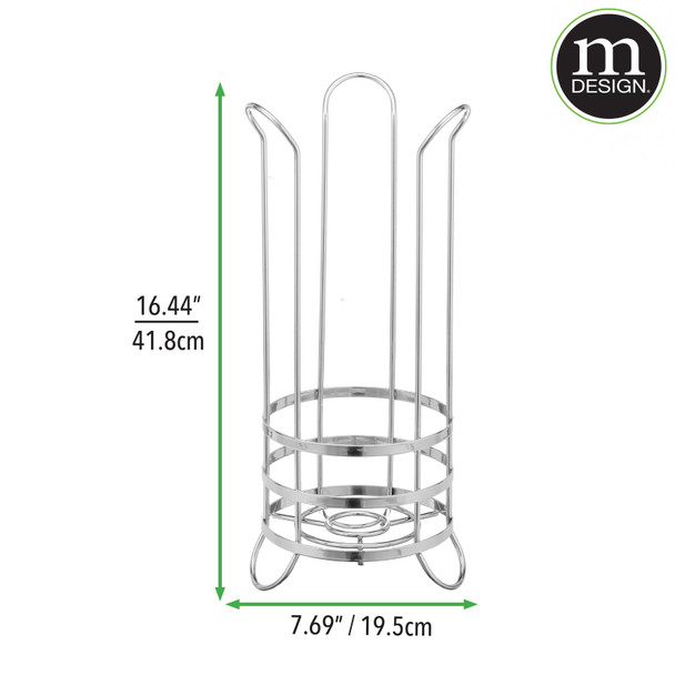 Metal Toilet Tissue Paper Roll Stand
