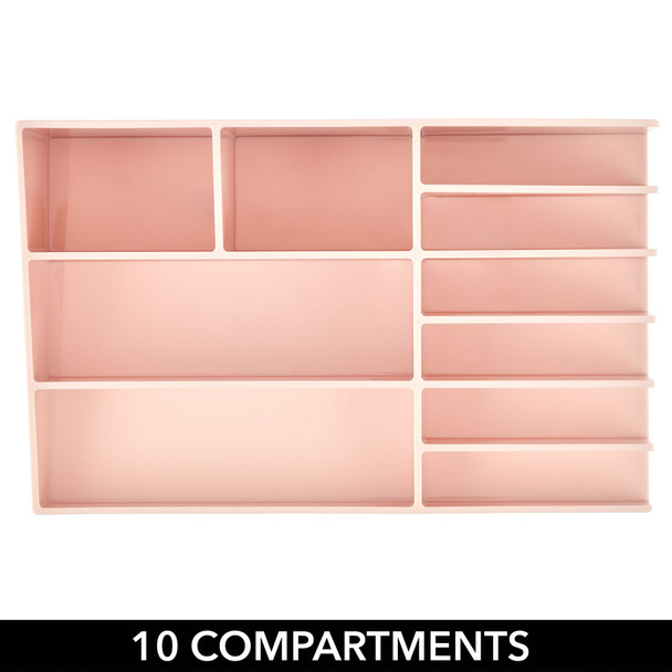 10 Section Plastic Makeup Cosmetic Storage Organizer