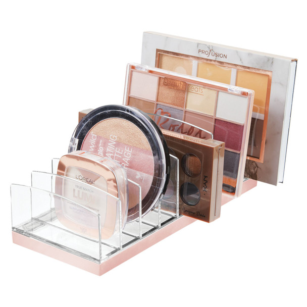 9 Section Makeup Tray Holder Vanity Desk Organizer