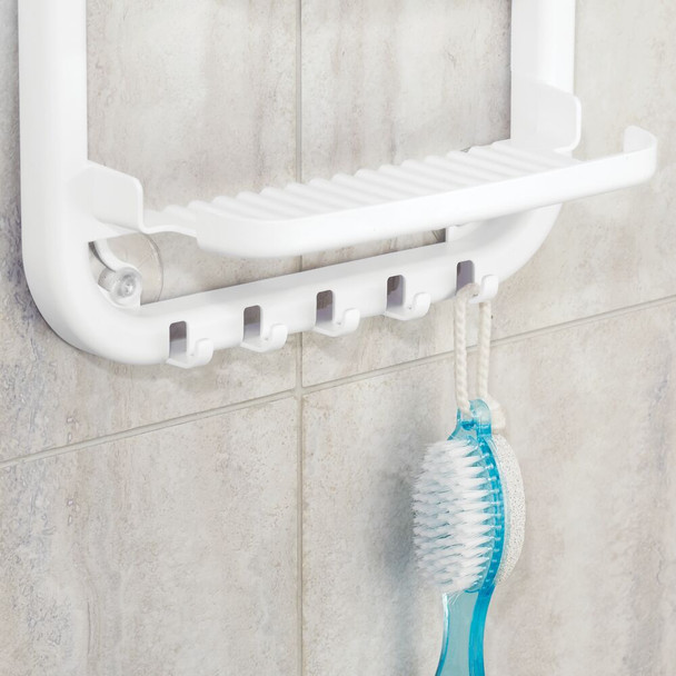Plastic Bathroom Shower Caddy for Hanging Storage