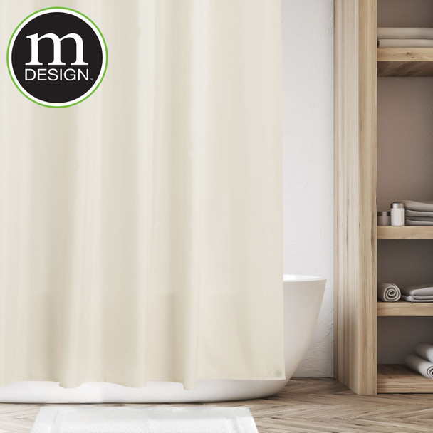 """Water Repellent Fabric Shower Curtain Liner - 72"""" x 96"""""""