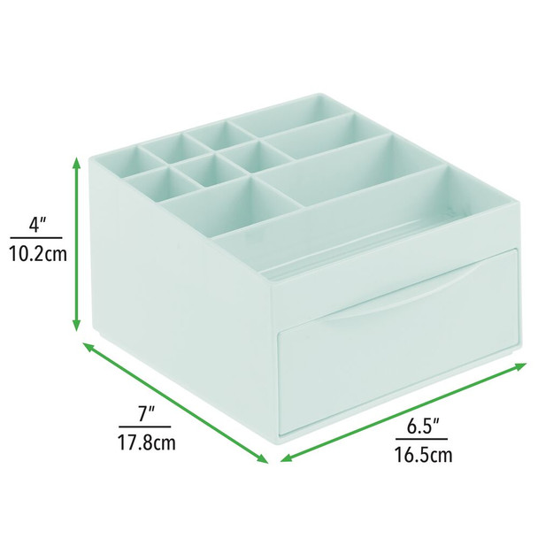 Plastic Cosmetic Makeup Storage Organizer With Drawer