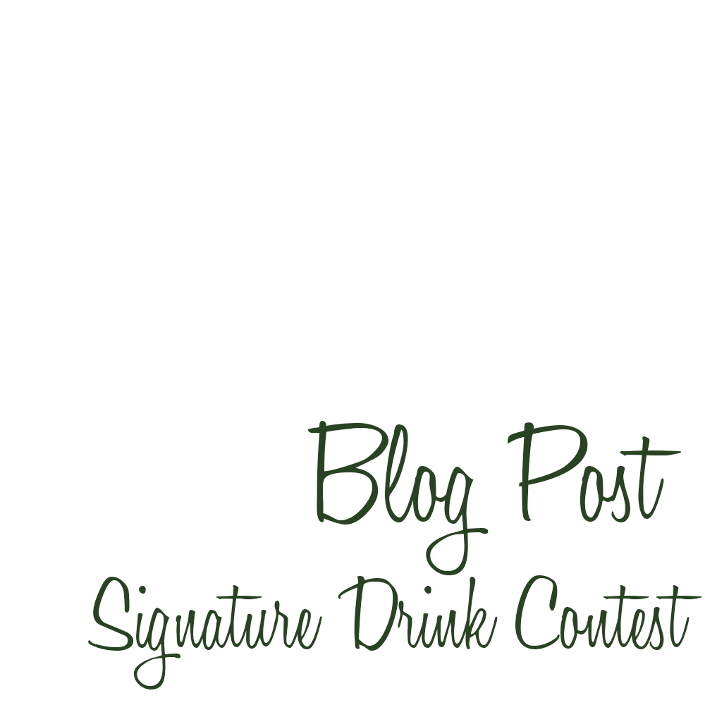 mDesign Signature Drink Contest Blog