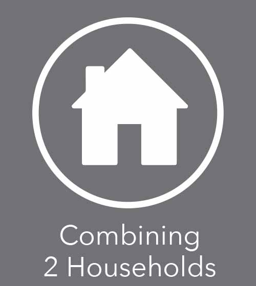learn how to combine two households