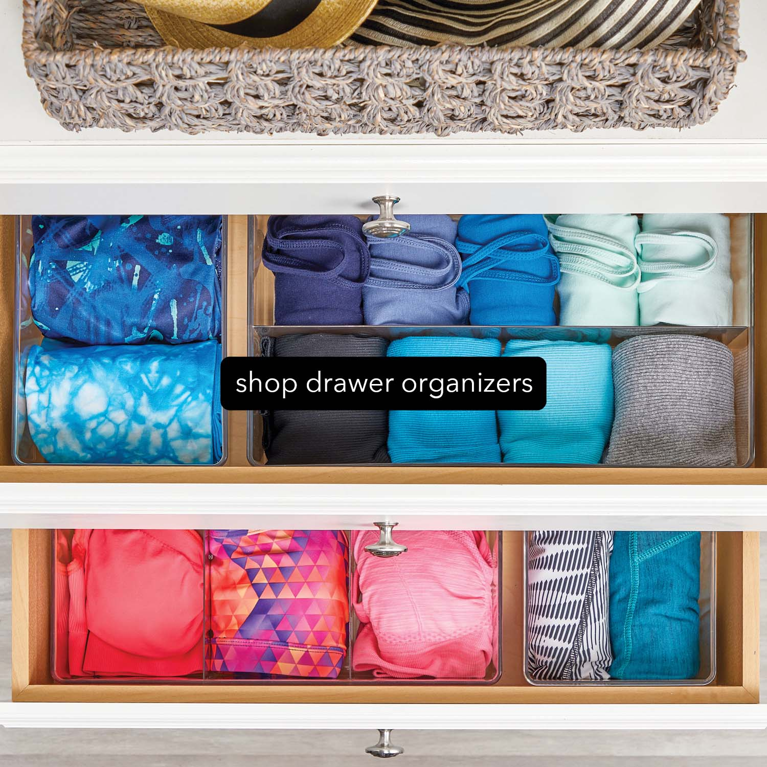 plastic drawer organizers with camisoles