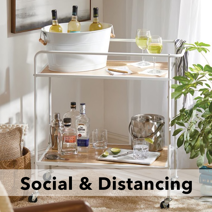 Social Distancing Entertaining Blog