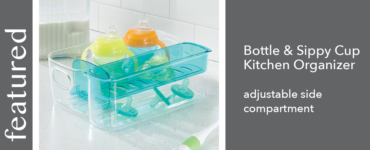 bottle and sippy cup organizer