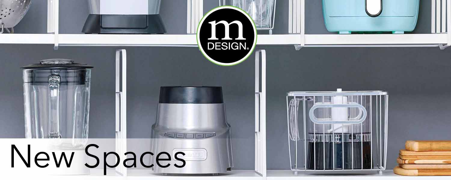 shelf dividers with kitchen appliances
