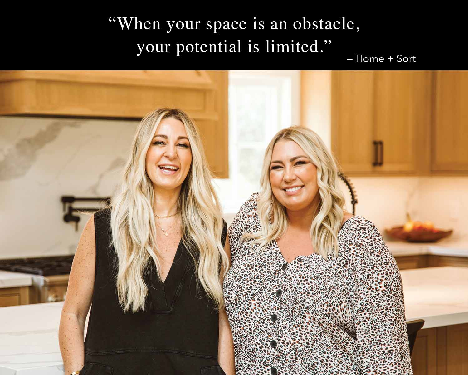 when your space is an obstacle, your potential is limited