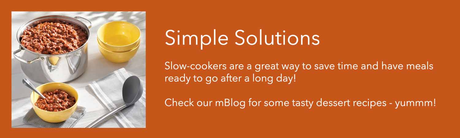 slow cookers are a great way to save time and have meals ready to go after a long day