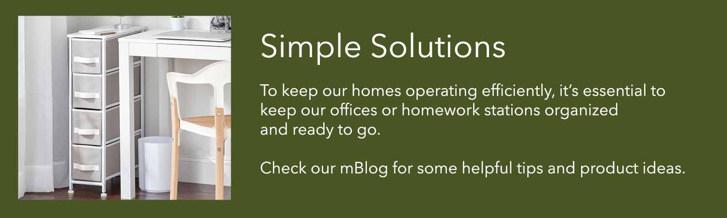to keep our homes operating efficiently its essential to make sure our offices or homework stations are organized and ready to go