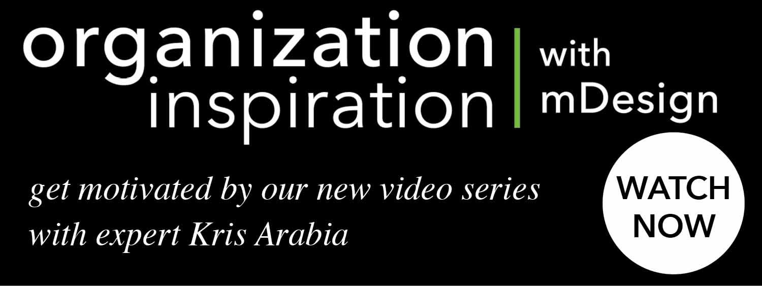 org inspo with mdesign get motivated by our new video series with expert kris arabia
