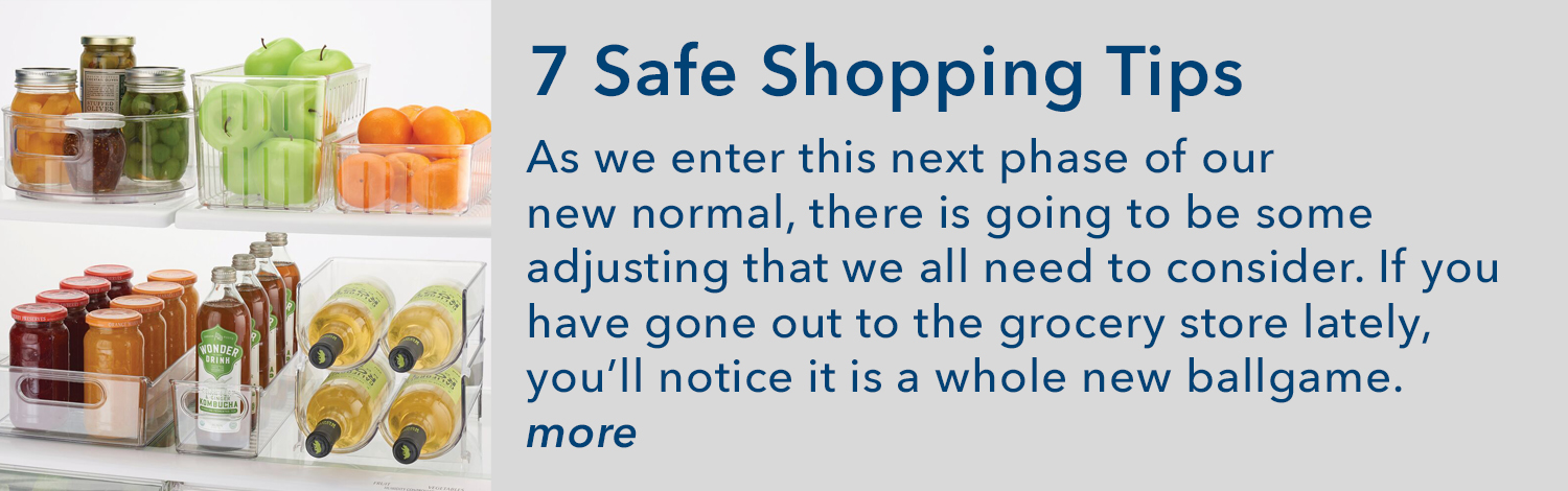 7 Safe Shopping Tips