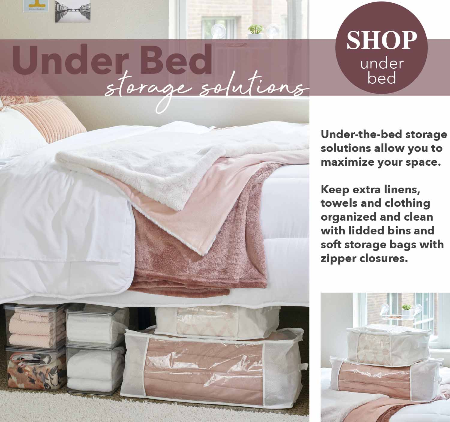 under bed storage solutions maximize your space keep extras tucked away