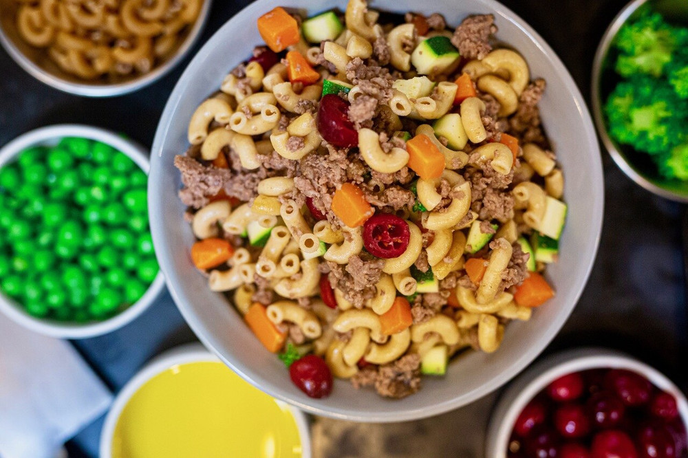 Roasted Turkey & Whole Wheat Macaroni Sampler