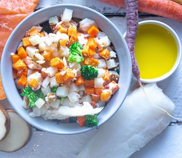 Alaskan Cod & Sweet Potato