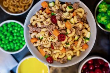 Roasted Turkey & Whole Wheat Macaroni Sampler