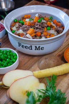 Beef & Russet Potato Sampler