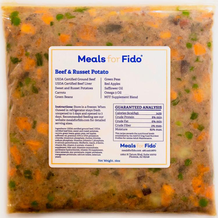 Beef & Russet Potato