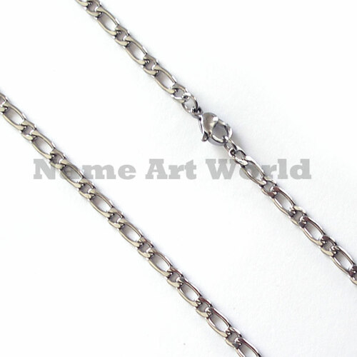 Wholesale Stainless Steel 1:1 Link Chain 3.5mm wide- High Polished---Lower price guarantee