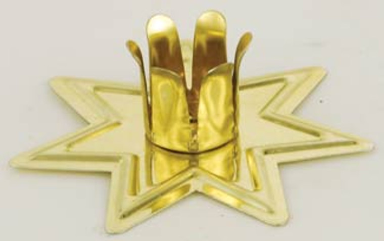 Chime holder, fairy star in gold